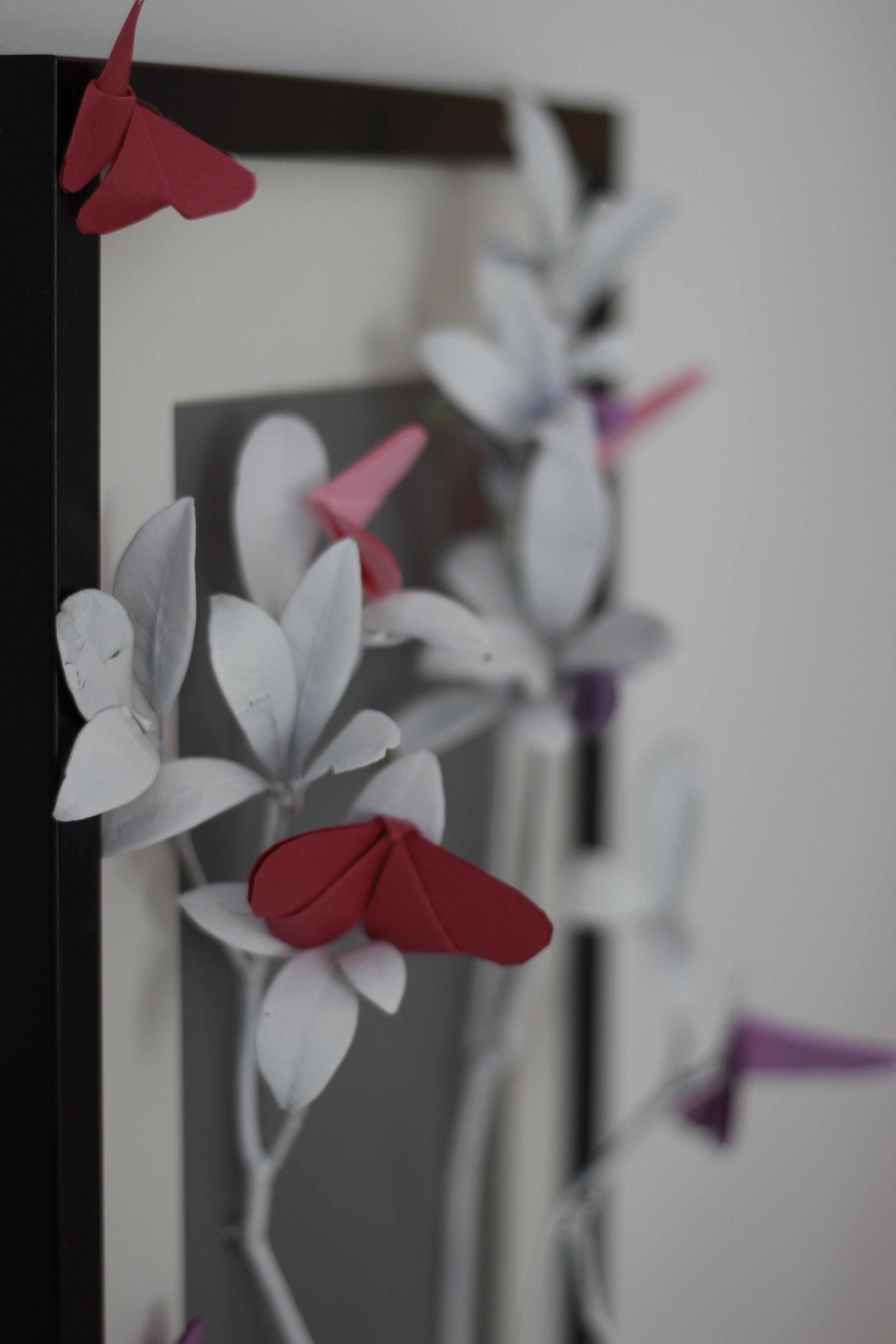 """Origami-Schmetterlinge und was man """"Sinnvolles"""" damit machen kann ..."""